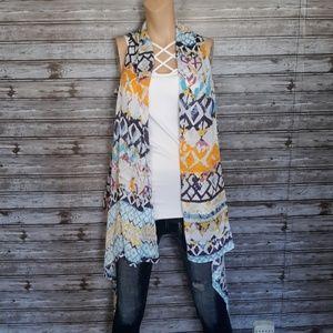 Jackets & Blazers - Abstract lightweight vest